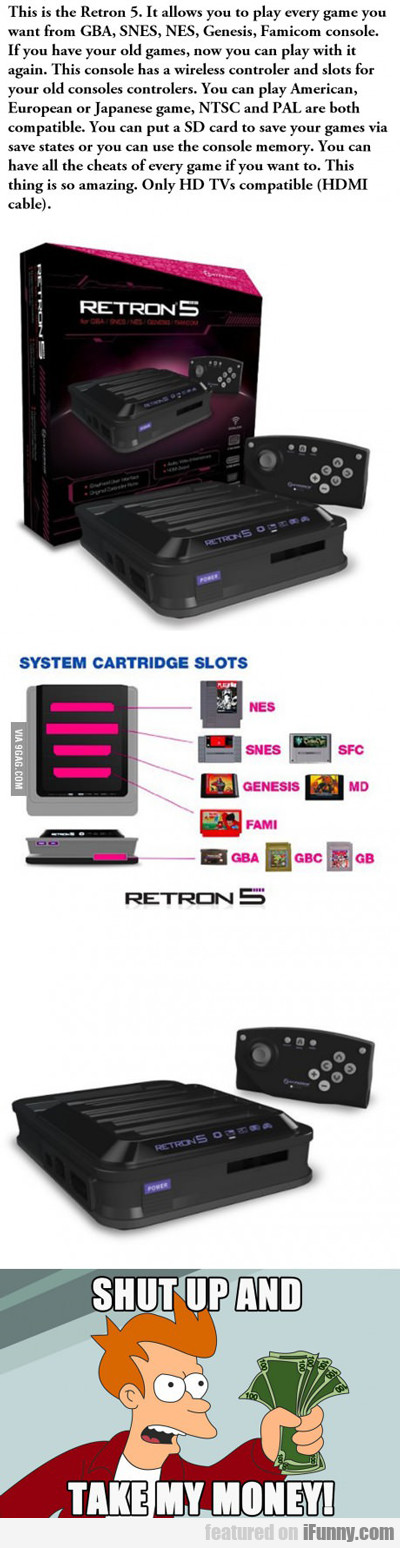 this is the retron 5...
