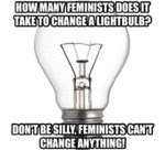 How Many Feminists Does It Take...