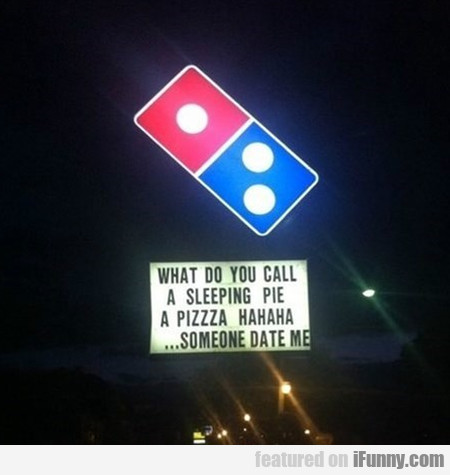 what do you call a sleeping pie