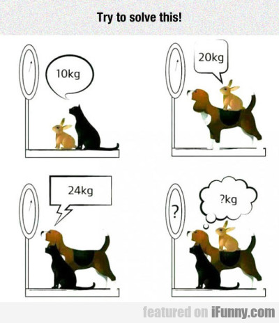 Try To Solve This... 10kg... 20kg...24kg...