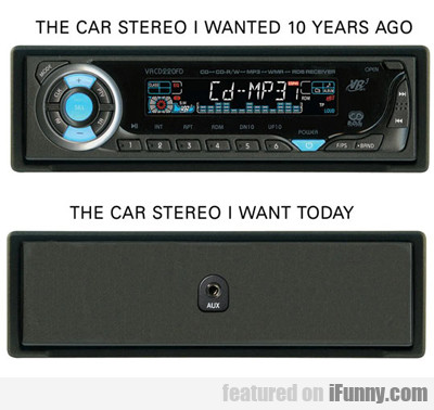 the car stereo i wanted 10 years ago...