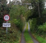 Speed Sign In Ireland...