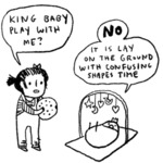 King Baby Play With Me - No It Is Lay...