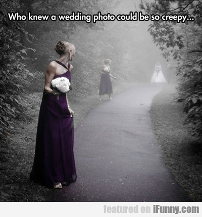 Who New A Wedding Photo...