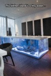 This Kitchen Island Is A Tiny Ocean...