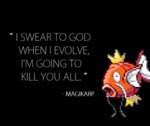 I Swear To God When I Evolve...