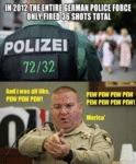 In 2012 The Entire German Police Force...
