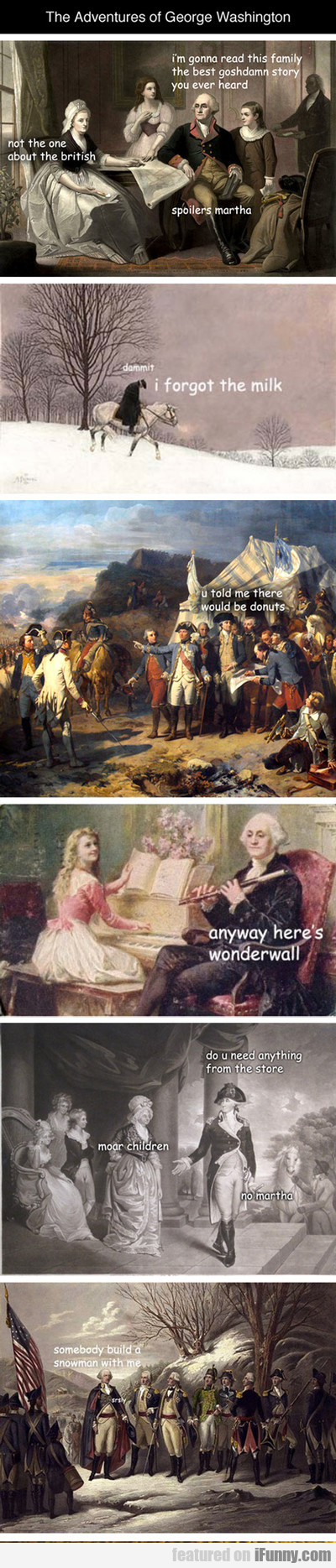 The Adventures Of George Washington...