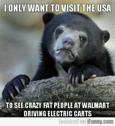 I Only Want To Visit The Usa...