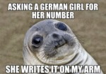 Asking A Girl For Her Number...