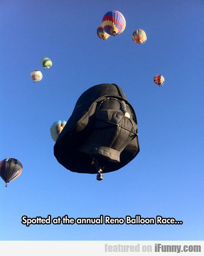 Spotted At The Annual Reno Balloon Race...