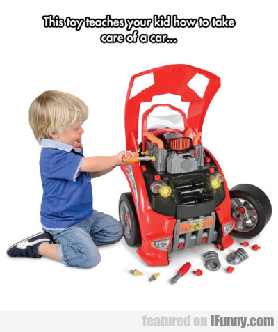 This Toy Teaches Your Kid How To Take...
