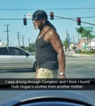 I Was Driving Through Compton...