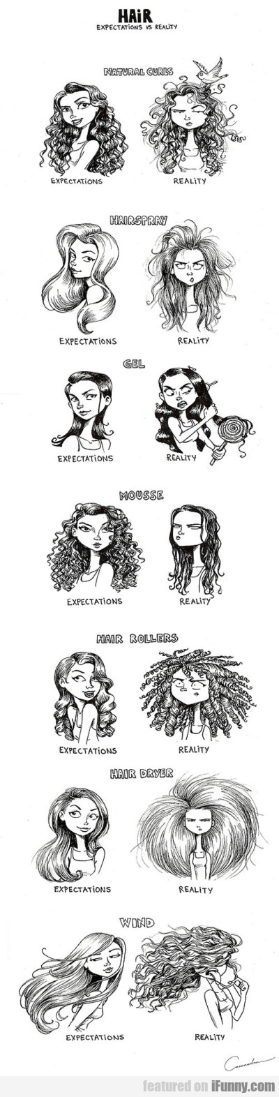 Hair - Expectations Vs Reality
