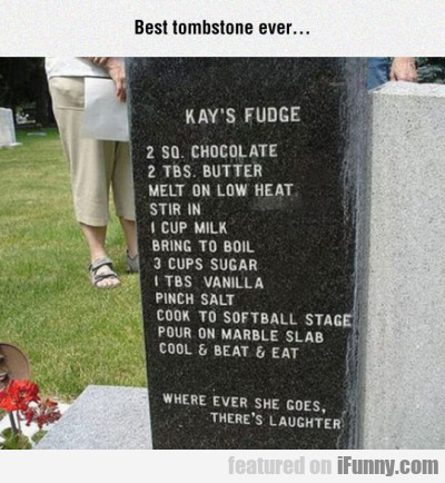 Best Tombstone Ever
