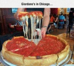 Giordano's Pizza In Chicago...