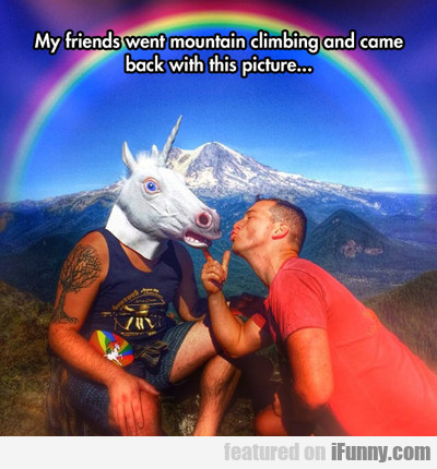 My Friends Went Mountain Climbing...