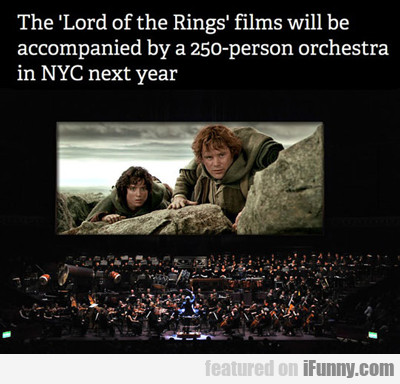the lord of the rings films will be...