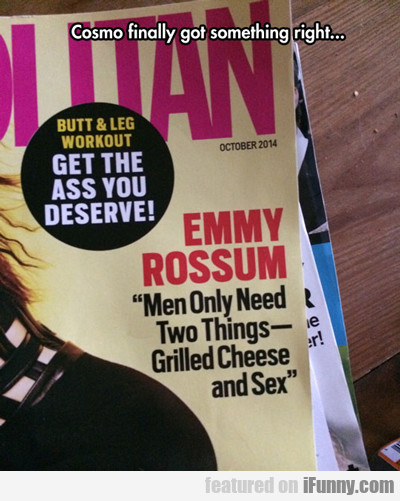 Cosmo Finally Got Something Right...