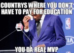 Countries Where You Don't Have To Pay For...