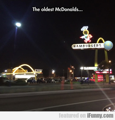 The Oldest Mcdonald's...