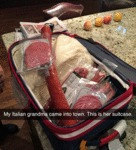 My Italian Grandma Came To Town...