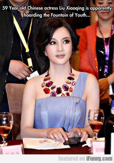 59 Year Old Chinese Actress...