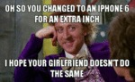 Oh So You Changed To An Iphone...