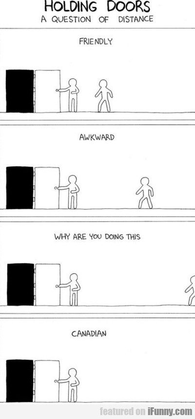 Holding Doors - A Question Of Distance...