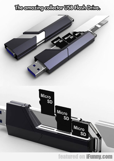 The Amazing Collector Usb Flash Drive...