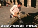 Wishing My Crush Will Like Me Back...