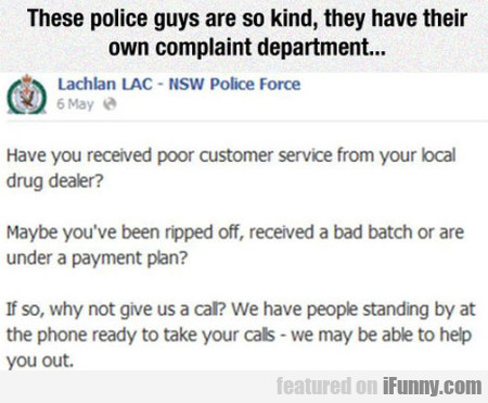 These Police Guys Are So Kind...