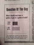 Question Of The Day...