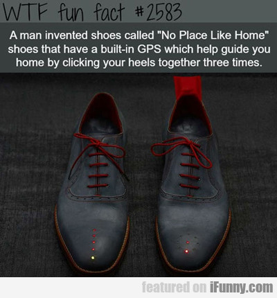 A Man Invented Shoes Called...