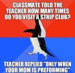 Classmate Told The Teacher...