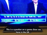 This Is A Question On A Game Show...
