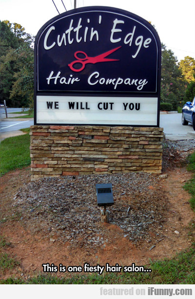 This Is One Feisty Hair Salon...
