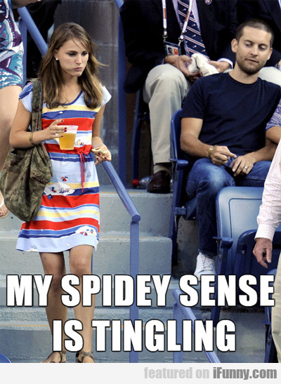 My Spidey Sense Is Tingling...