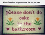 When Grandma Helps Decorate The...