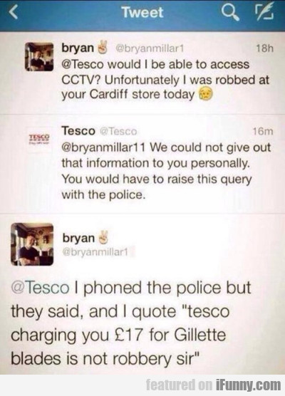 @tesco Would I Be Able