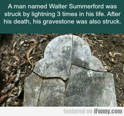 A Man Named Walter Summerford...