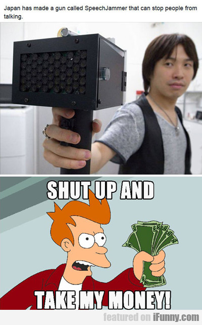 Japan Made A Gun Called Speech Jammer...