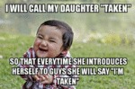I Will Call My Daughter Taken..