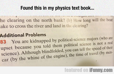 Found This Is My Physics Textbook...