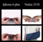 Iphone 6 Plus Vs Nokia 3310...