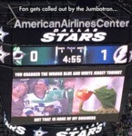 Fan Gets Called Out By The Jumbotron...