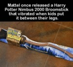 Mattel Once Released A Harry Potter Nimbus...