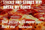 Sticks And Stones May Break My Bones...