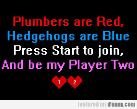 Plumbers Are Red