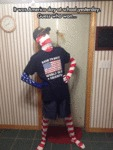 It Was America Day At School Yesterday...